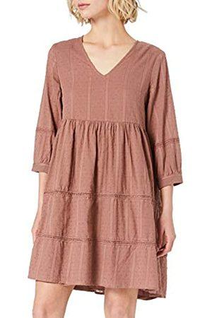 Object Female Kleid 3/4-Ärmel 38Cognac