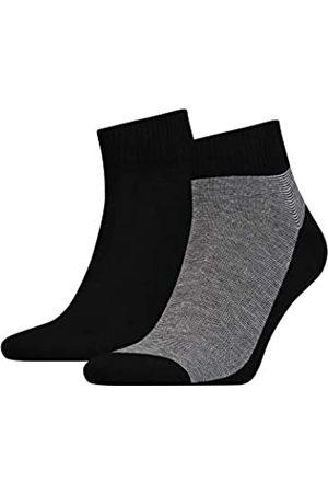 Levi's Herren LEVIS 168SF MID CUT MICRO STRIPE 2P Socken