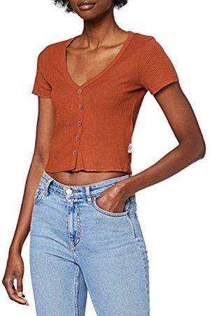 Lee Cooper Damen Button Rib Tee T-Shirt