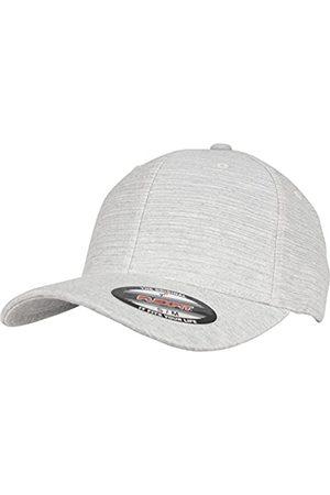 Flexfit Melange Cap, Base Cap die sich dem Kopffumfang anpasst, ohne Kunststoff-Verschluss
