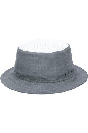 Thom Browne Herren Hüte - Fischerhut mit Logo-Streifen