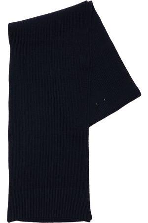 MAISON MARGIELA Schal Aus Baumwolle Und Wolle