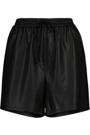 Serafini Shorts aus Lederimitat