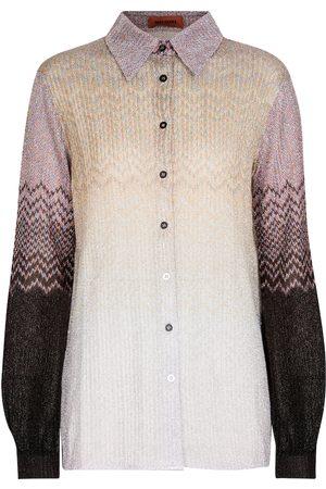 Missoni Hemd aus Metallic-Strick