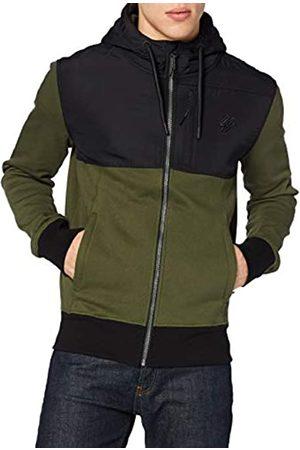Superdry Mens Collective BLK EDT. Zip Hood Sweater