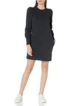 Goodthreads Feminine Long Sleeve Heritage Fleece Sweatshirt Dress Kleid