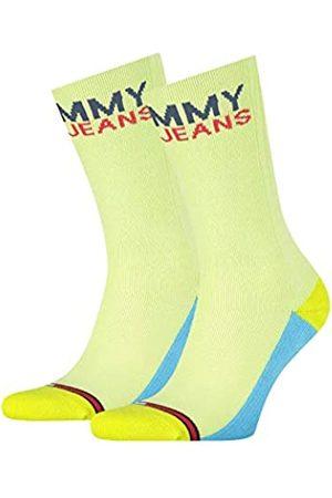 Tommy Hilfiger Unisex-Adult Tommy Jeans Vintage Cut (2 Pack) Socks
