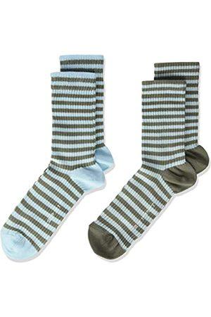 Esprit Unisex Kinder Sporty Stripe 2-Pack K SO Hausschuh-Socken