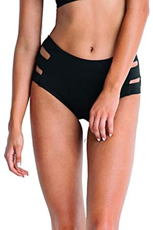 Seafolly Damen High Waisted Quilted Pant Bikinihose,, per pack