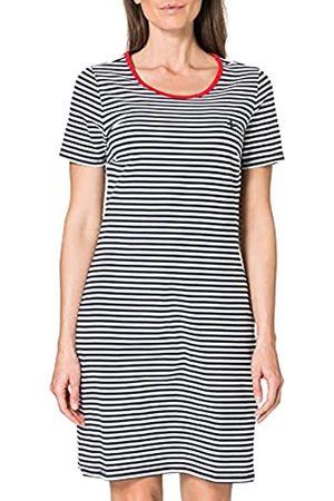 Blue Seven Damen Streifen, U-Boot-Ausschnitt Kleid