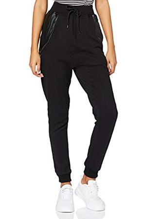 Urban classics Herren Side Zip Leather Pocket Sweatpant Hosen