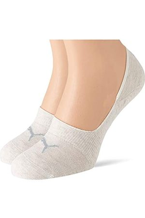 PUMA Unisex-Adult Footie (2 Pack) Socks