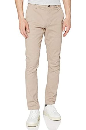 MERAKI Amazon-Marke: Herren Chinohose Slim Fit, (Sand), 30W / 32L