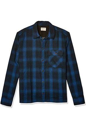 Nudie Jeans Unisex-Erwachsene Sten Shadow Check Hemd mit Button-Down-Kragen