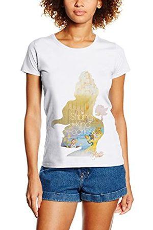 Disney Damen Princess Filled Sillhouette Belle T-Shirt