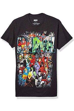 Marvel Herren Team Ups Group Shot T-Shirt - - Groß