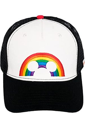 Concept One Unisex-Erwachsene Disney Mickey Mouse Ears Embroidered Rainbow Pride Adjustable Trucker Hat Hut, /