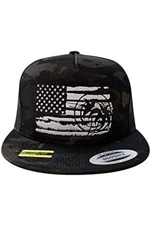 NICERIDE Baseball Cap - Strong Fade Snapback Mesh Back Trucker Hat 6006 - - Einheitsgröße