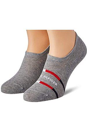 Tommy Hilfiger Mens Breton Stripe Men's Footie (2 Pack) Socks