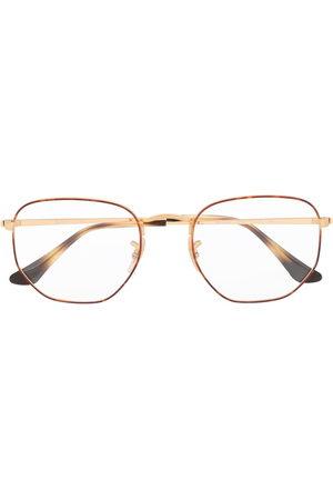 Ray-Ban Brille mit sechseckigem Gestell