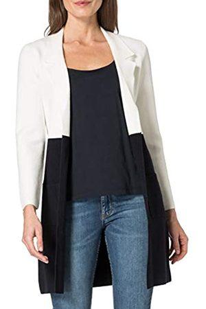 Morgan Damen Gilet Long Color Block Mirabel Sweater-Strickjacke
