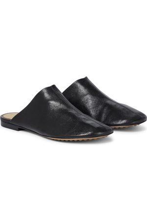 Bottega Veneta Damen Halbschuhe - Slippers Dot Sock aus Leder