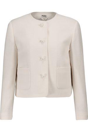 Miu Miu Damen Blazer & Sakkos - Blazer aus einem Wollgemisch