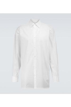 Maison Margiela Hemd aus Baumwollpopeline