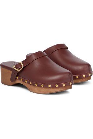 Ancient Greek Sandals Clogs Classic Closed aus Leder
