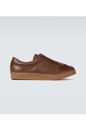 Tom Ford Sneakers Bannister aus Leder