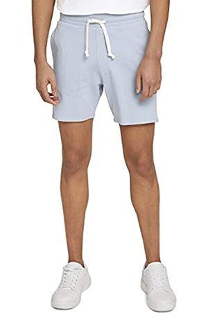 TOM TAILOR Herren 1026108 Sweatpants Bermuda Shorts, 15159-Foggy Blue
