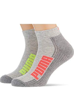 PUMA Unisex Unisex Bwt Cushioned Quarter (2 Pack) Socks