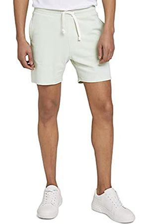 TOM TAILOR Herren 1026108 Sweatpants Bermuda Shorts, 25132-Smooth Green