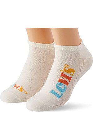 Levi's Unisex-Adult New Logo Low Cut (2 Pack) Socks
