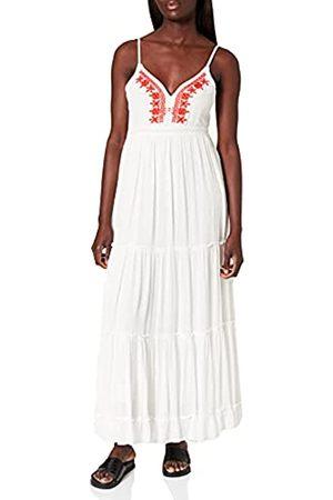 Springfield Damen Vestido MIDI Bordado Kleid