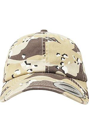 Flexfit Low Profile Camo Washed Cap Unisex Kappe für Damen und Herren