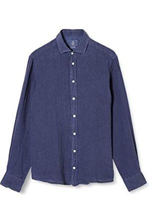 Hackett Hackett Herren Garment Dye Ln Ks Businesshemd