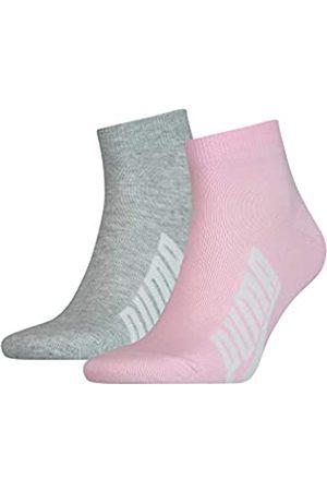 PUMA Unisex-Adult BWT Lifestyle Quarter (2 Pack) Socks