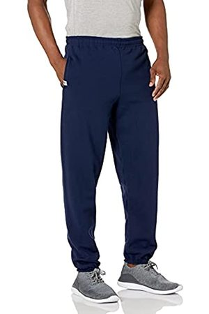 Russell Athletic Herren Dri-Power Sweatpants aus Fleece mit geschlossener Unterseite - - Groß