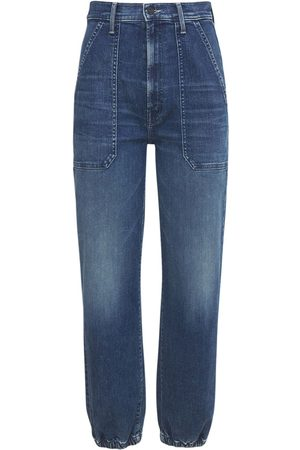 """MOTHER Damen Cropped - Jeans """"the Wrapper"""""""