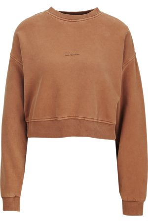 YOUNG POETS SOCIETY Damen Sweatshirts - Damen Pullover Bente sweat cropped 214 rot (vintage old whiskey)