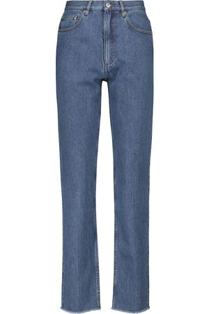 A.P.C. Low-Rise Straight Jeans Rudie