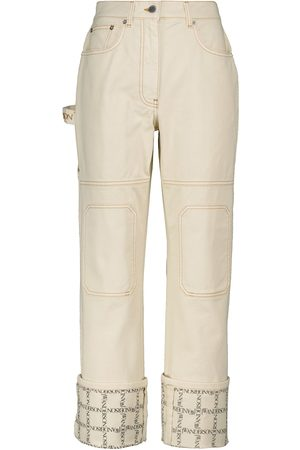 J.W.Anderson Mid-Rise Straight Jeans