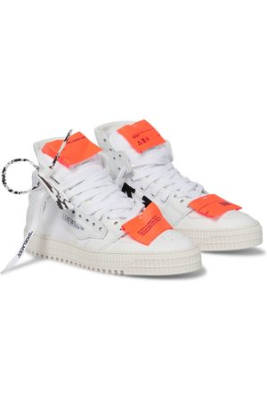 OFF-WHITE High-Top-Sneakers 3.0 Court aus Leder