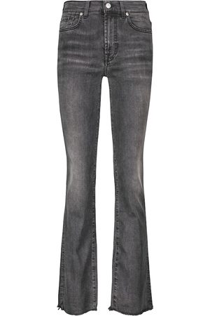 7 For All Mankind Mid-Rise Jeans The Straight