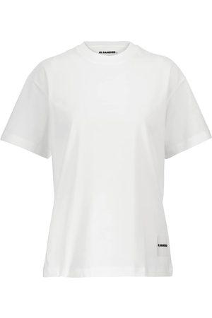 Jil Sander Set aus drei T-Shirts aus Baumwoll-Jersey