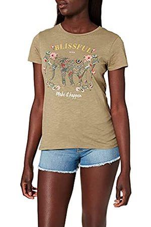 Springfield Damen Camiseta Elefante Unterhemd
