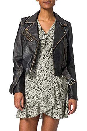 GOOSECRAFT Damen GC Marly biker Leather Jacket