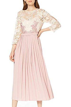 Little Mistress Damen Partykleider - Damen Eloise Rose Lace Midi Dress cocktailkleid