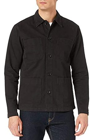 SELECTED Male Overshirt Loose Fit schwer LBlack